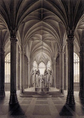 SCHINKEL Karl Friedrich Study For A Monument To Queen Louise