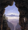 SCHINKEL Karl Friedrich The gate In The Rocks