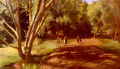 Makowsky Constantin Jegorovich Summer Afternoon