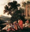 LA HIRE Laurent de Laban Searching Jacobs Bagagge For The Stolen Idols