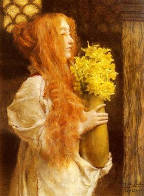 Alma%20Tadema Sir Laurence Spring Flowers