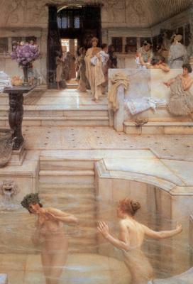 Alma Tadema A Favourite Custom