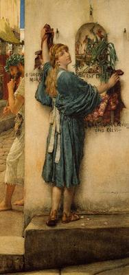 Alma Tadema A Street Altar