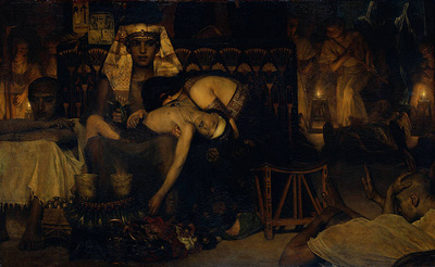 Alma Tadema Death of the Pharaoh s Firstborn Son