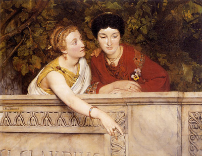 Alma Tadema Gallo Roman Women
