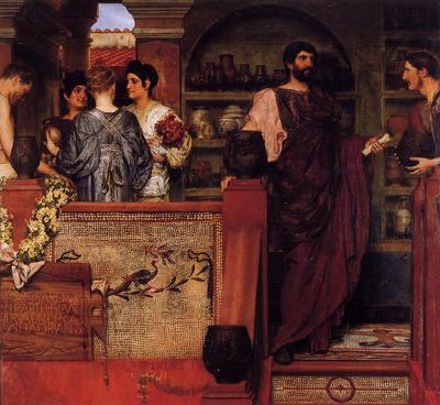 Alma Tadema Hadrian Visiting a Romano British Pottery