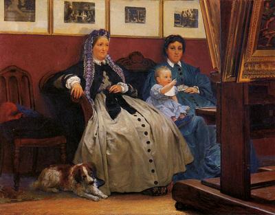 Alma Tadema My Studio