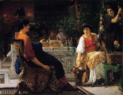 Alma Tadema Preparations for the Festivities