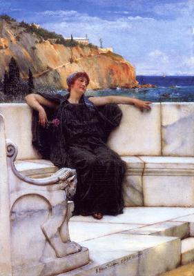 Alma Tadema Resting