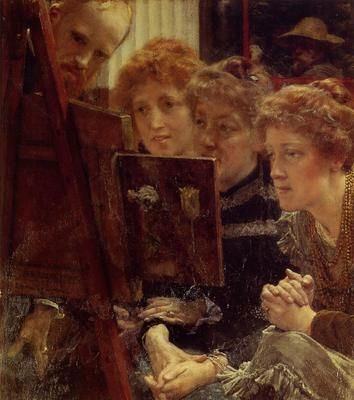Alma Tadema The Family Group