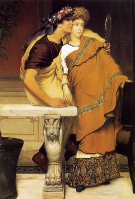 Alma Tadema The Honeymoon