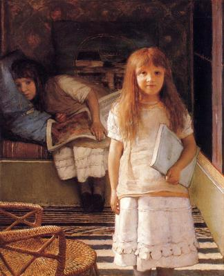 Alma Tadema This is our Corner Laurense and Anna Alma Tadema