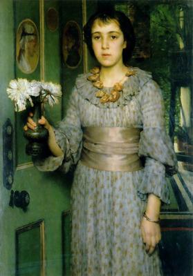 Portrait of Anna Alma Tadema