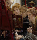 Alma Tadema Lawrence A Family Group