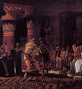 Alma Tadema Pastimes in Ancient Egyupe 3 000 Years Ago
