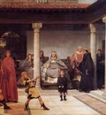 Alma Tadema The Education of the Children of Clovis