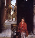 Alma Tadema The Way to the Temple