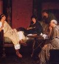 Alma Tadema Tibullus at Delia s