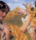 Alma Tadema When Flowers Return