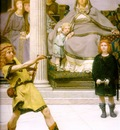 The Education of the Children of Clovis detail