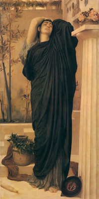 Electra at the Tomb of Agamemnon c1868 9 150x75 5cm
