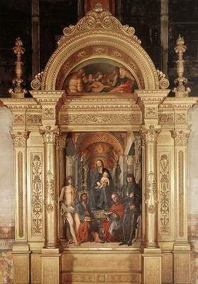 COSTA Lorenzo Madonna And Saints