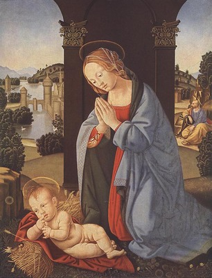LORENZO DI CREDI The Holy Family
