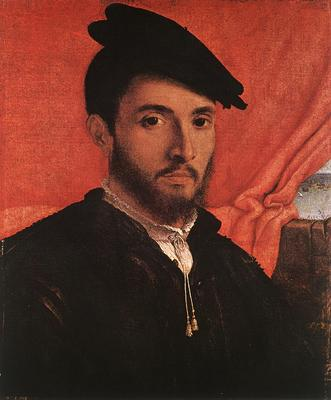 Lotto Lorenzo Portrait of a Young Man c1526
