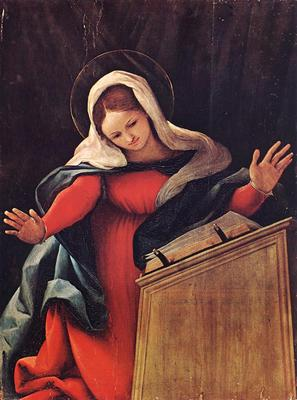 lotto lorenzo virgin annunciated