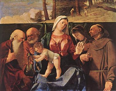 Madonna and Child with Saints WGA