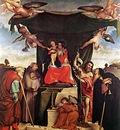 lotto lorenzo madonna and child with saints