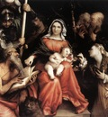 lotto lorenzo mystic marriage of st catherine