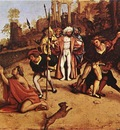 lotto lorenzo the martyrdom of st stephen