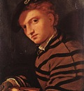 lotto lorenzo young man with book 1525