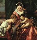 The Mystic Marriage of St Catherine WGA
