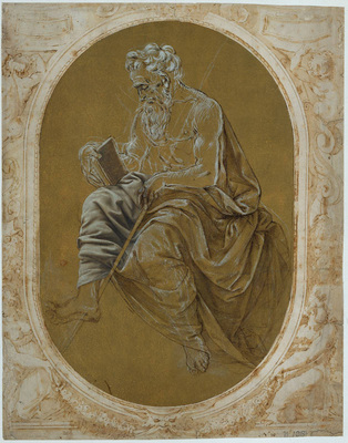 Credi Lorenzo di Study for a Reading Apostle or Evangelist