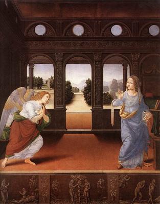 Lorenzo di Credi Annunciation