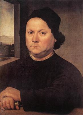 Lorenzo di Credi Portrait of Perugino c1504