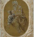 Credi Lorenzo di Study for a Reading Apostle or Evangelist