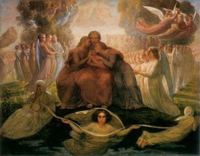 janmot louis le poeme de l ame 1 generation divine