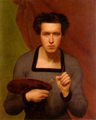 janmot louis portrait de l artiste