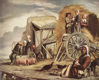 Le Nain Louis The cart Or Return From Haymaking