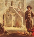 Le Nain Louis Peasants At Their Cottage Door