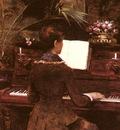 Abbema Louise At The Piano