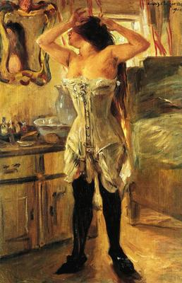 Cointh Lovis In a Corset