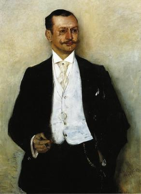 Corinth Lovis Portrait of the Painter Karl Strathmann