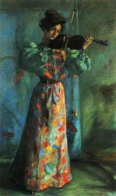 Corinth Lovis The Violinist