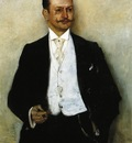 Corinth Lovis Portrait of the Painter Karl Strathmann