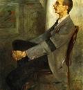 Corinth Lovis Portrait of the Painter Walter Leistilow