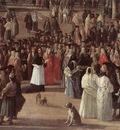 CARLEVARIS Luca The Reception Of Cardinal Cesar D Estrees detail